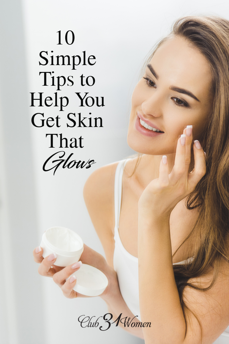 Do you ever feel like the fight for happy skin is a losing battle? Check out this list of things you can do to get that glowing skin you desire! via @Club31Women