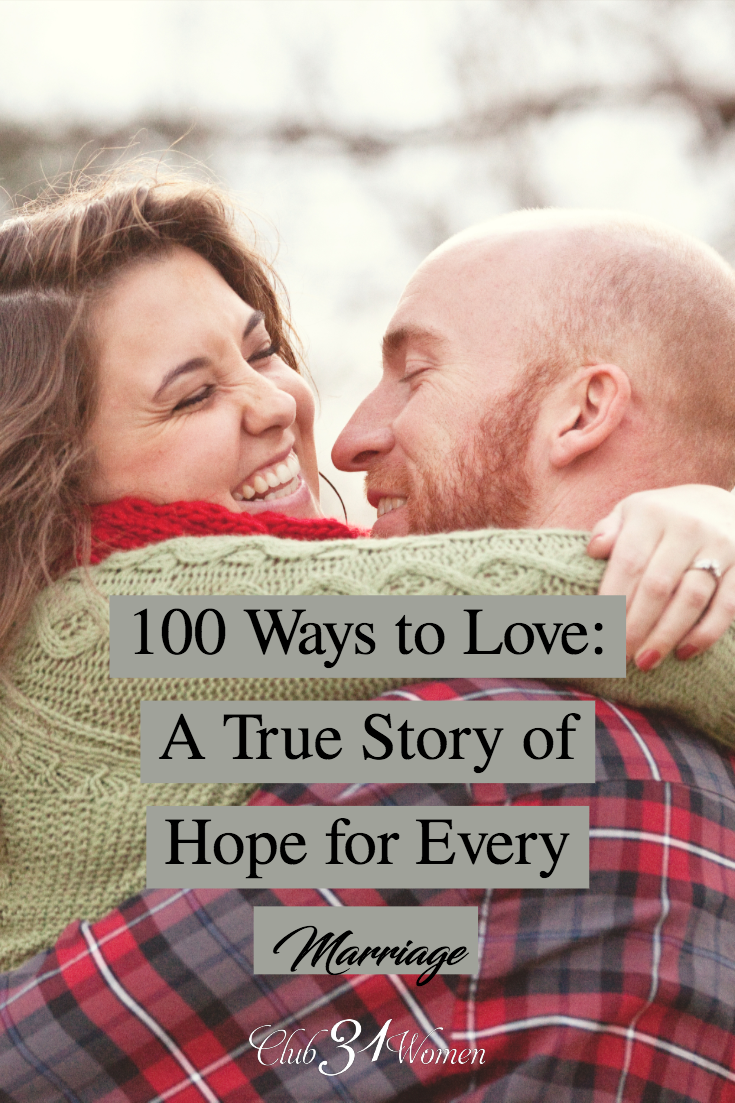 How can you love marriage and find hope when circumstances seem bleak? Can your marriage be blissful and beautiful even while things feel hopeless? Yes! via @Club31Women