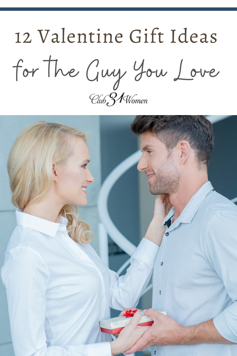 Finding new gift ideas for your husband can be a challenge -- and some more challenging than others. Why not give him something he'll love? via @Club31Women