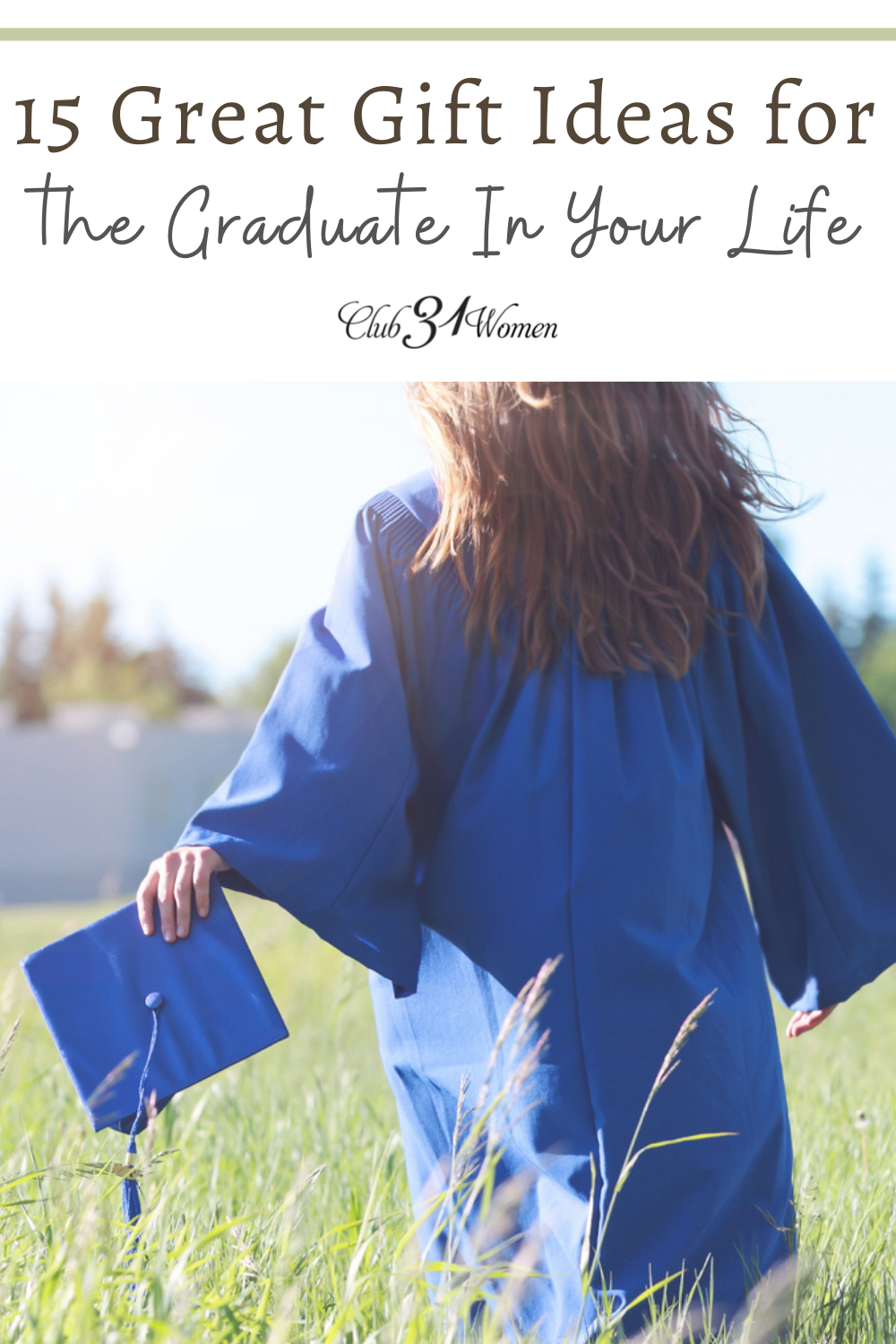 Do you have a graduate in your life this year? It can be confusing and overwhelming knowing the best way to celebrate them, so here is a list of gift ideas to get you started! via @Club31Women