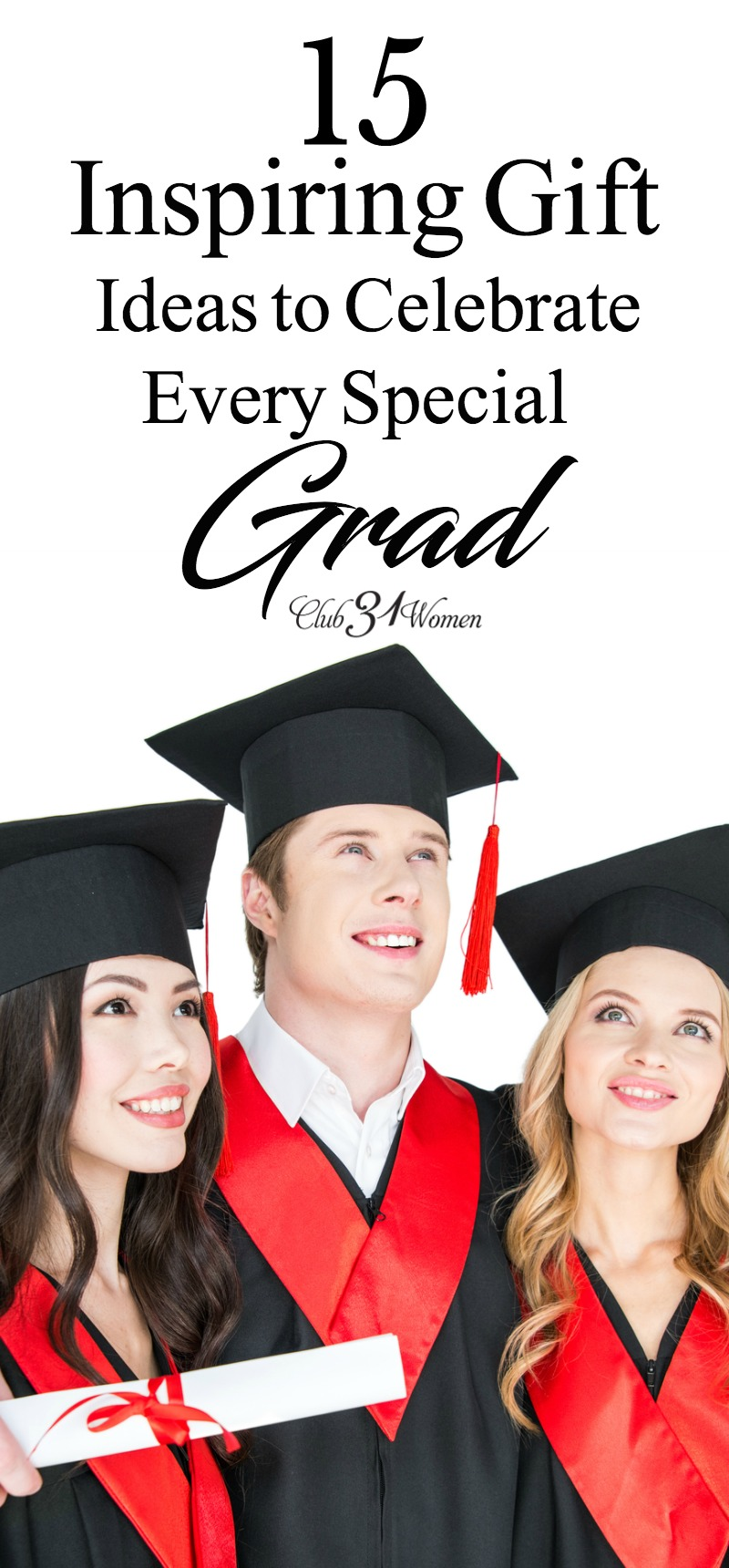 Do you know someone who is graduating and you're looking for some great gift ideas for that special grad? Here are a few selections to get you started. via @Club31Women