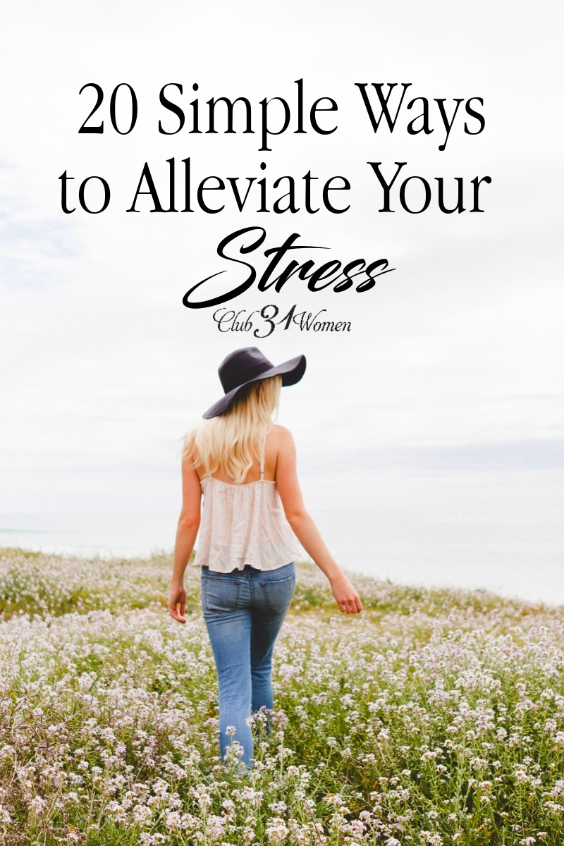 Here are some stress-free methods and attitude changes to help calm and reset your focus on what matters on those days when you feel most overwhelmed. via @Club31Women