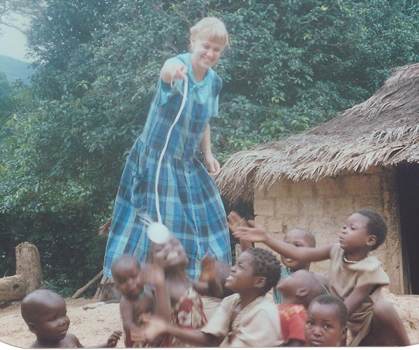 Lisa in Cameroon