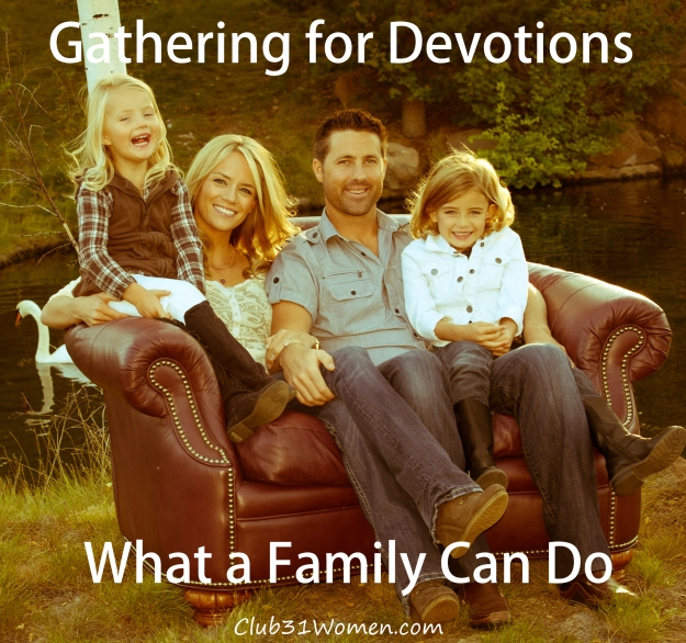 Gathering for Devotions