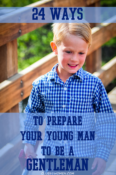 24 Ways to Prepare Your Young Man