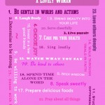 FREE Printable – 24 Ways to Prepare Her to be a Lovely Woman