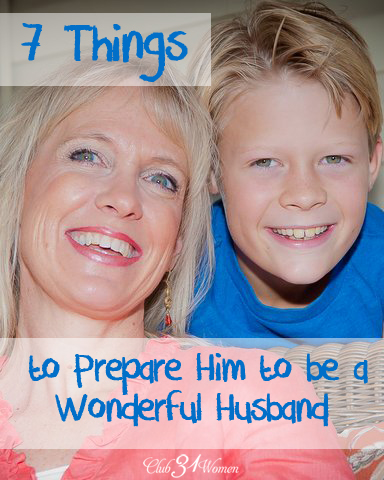 7 things to prepare him to be a husband
