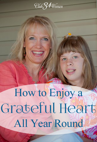 How to Enjoy a Grateful Heart