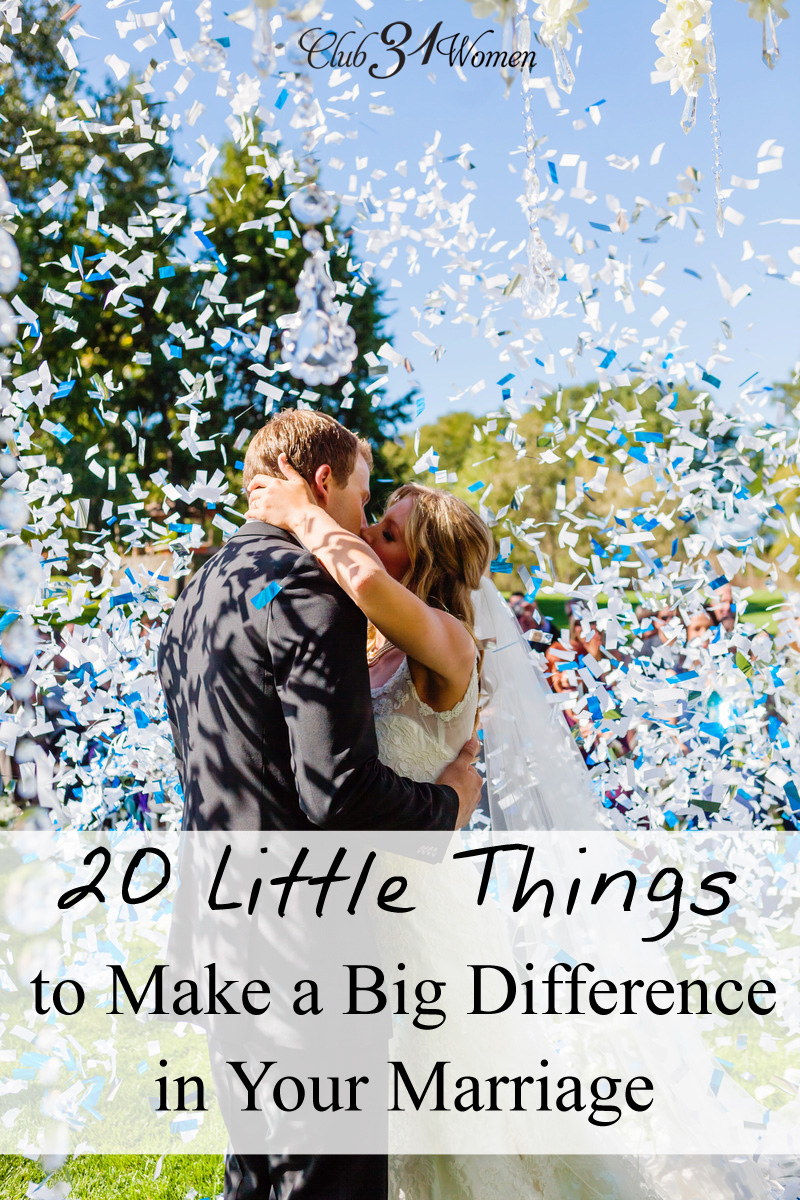20 Little Things That Make A Big Difference In Your Marriage