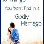 A Free eBook Offer: 10 Things You Won't Find in a Godly Marriage