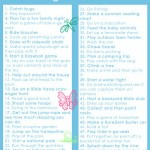FREE Printable: 50 Fun Things for Kids to Do