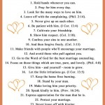 FREE Printable: 25 Tips I Want to Share with Younger Wives