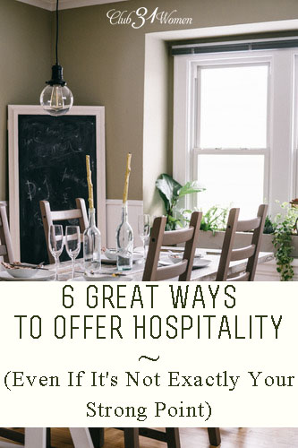 6 Great Ways to Offer Hospitality