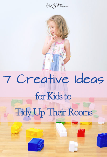7 Creative Ideas for Kids to Tidy Up Their Rooms