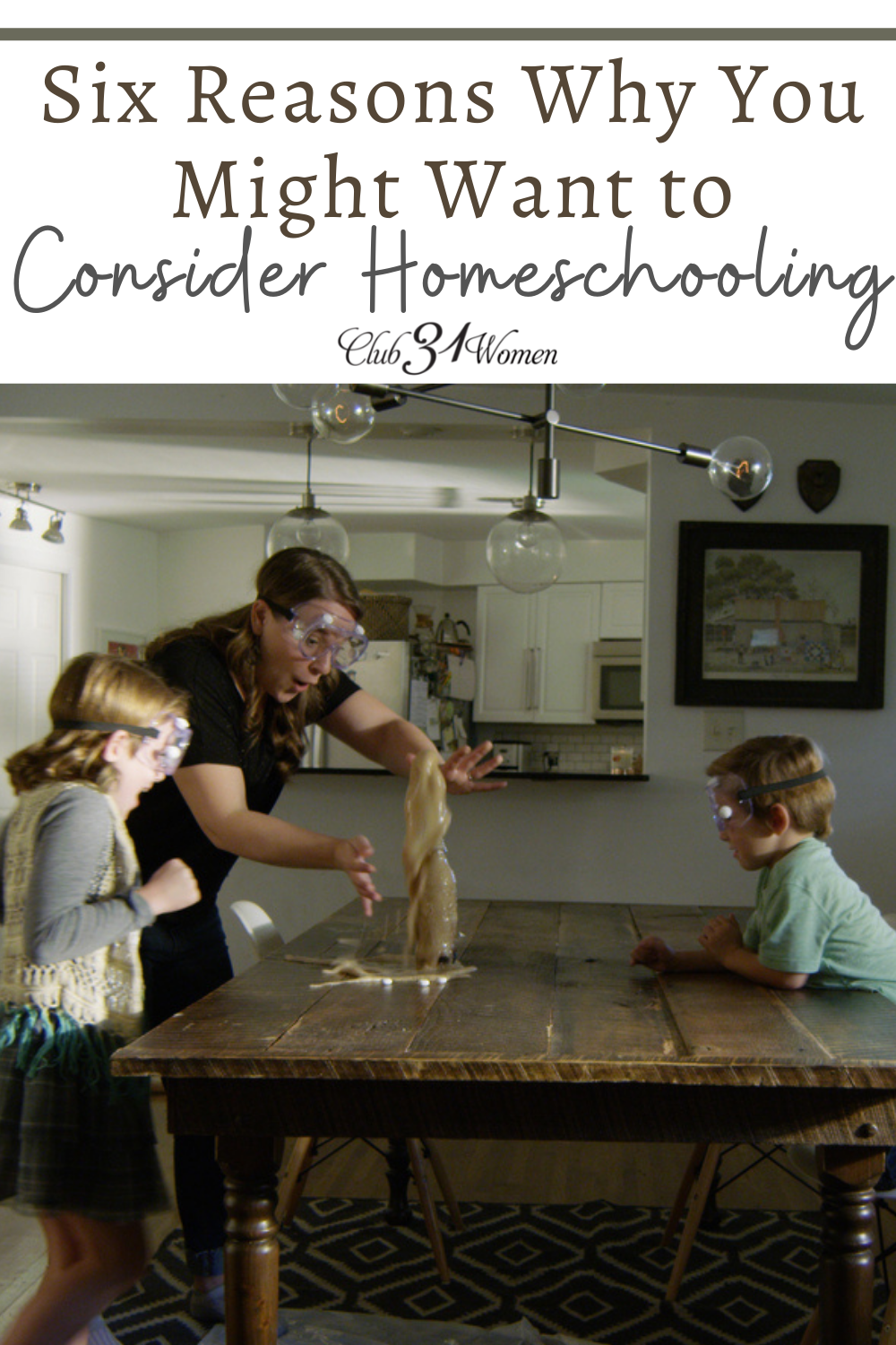 If you are wondering - or doubting - if you're the homeschooling type, here are some things to consider before making a final decision. via @Club31Women