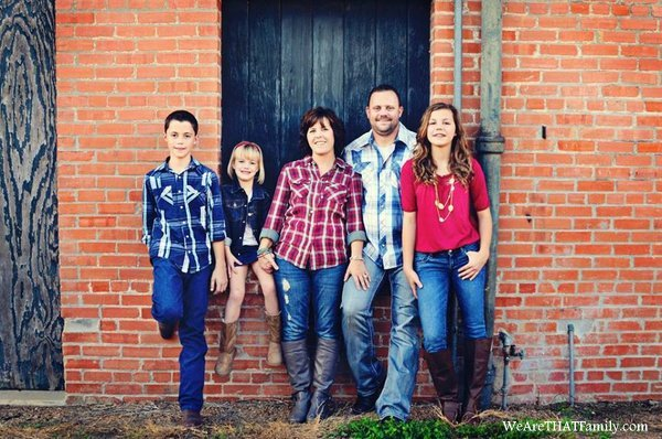 The Welch Family of We Are THAT Family