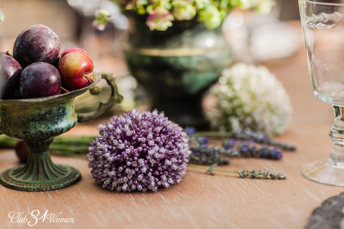 20 Touches of Beauty - Lavender and fruit
