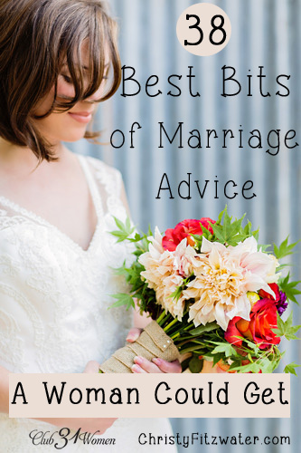 38 Best Bits of Marriage Advice