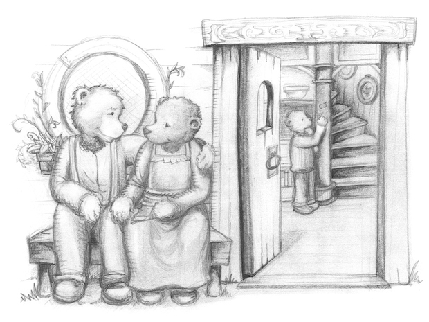 The Growly Books - Illustrations