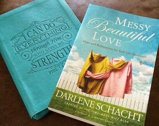Messy, Beautiful Love and Journal by Darlene Schacht