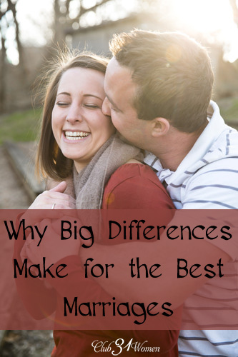 Why Big DIfferences Make for the Best Marriages