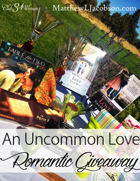 An Uncommon Love - A Romantic GIveaway for Two
