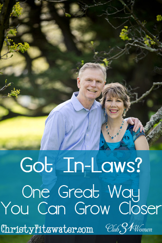 Got In-Laws - One Great Way You Can Grow Closer