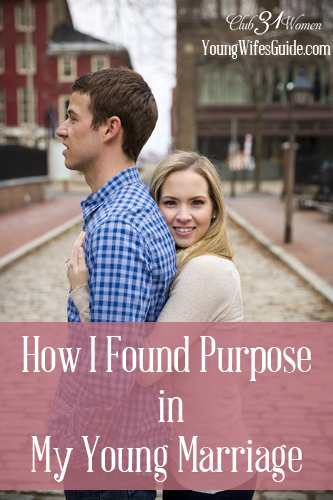 How I Found Purpose in My Young Marriage