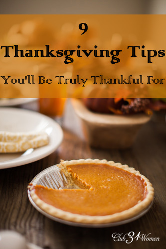 9 Thanksgiving Tips You'll Be Truly Thankful For