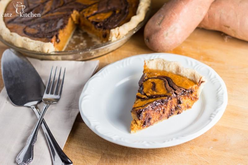 Nutella Sweet Potato Pie