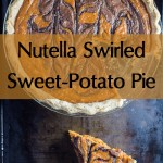 Gorgeous and Decadent! Nutella-Swirled Sweet-Potato Pie