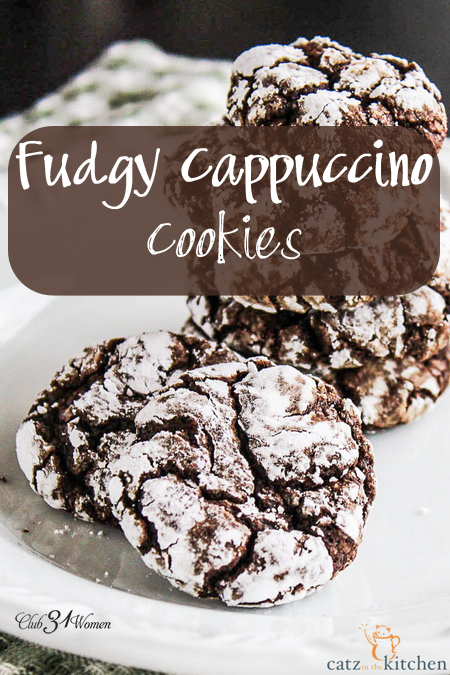 Fudgy Cappuccino Crinkles