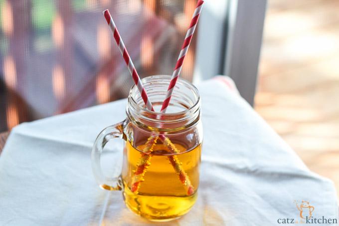 Homemade Sparkling Apple Cider