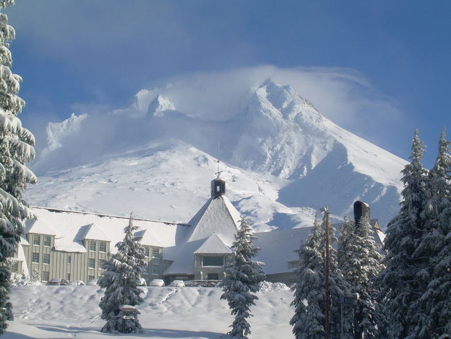 Timberline Lodge on Mount Hood