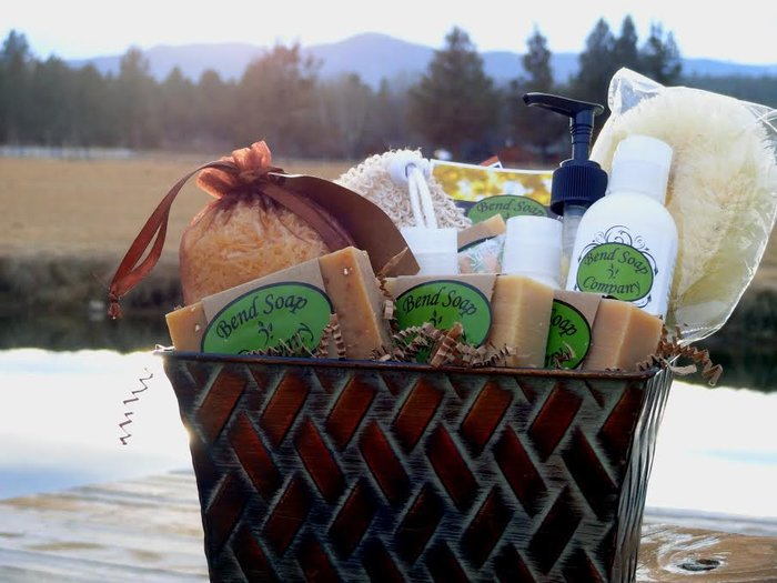 Bend Soap Company Gift Basket