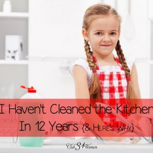 I Haven't Cleaned the Kitchen in 12 Years
