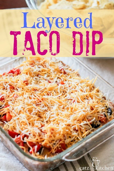 Layered Taco Dip - Club 31 Women
