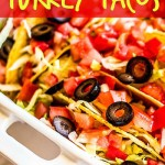 Oven Baked Turkey Tacos