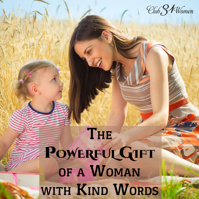 The Powerful Gift of a Woman with Kind Words