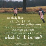 That One Question That Unlocks {The Door to Your Child's Heart}