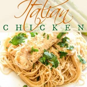 Italian Chicken | Club 31 Women | club31women.com #Italian