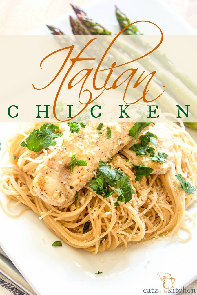 Italian Chicken with Angel Hair Pasta {& The Business of Making Beautiful Things}