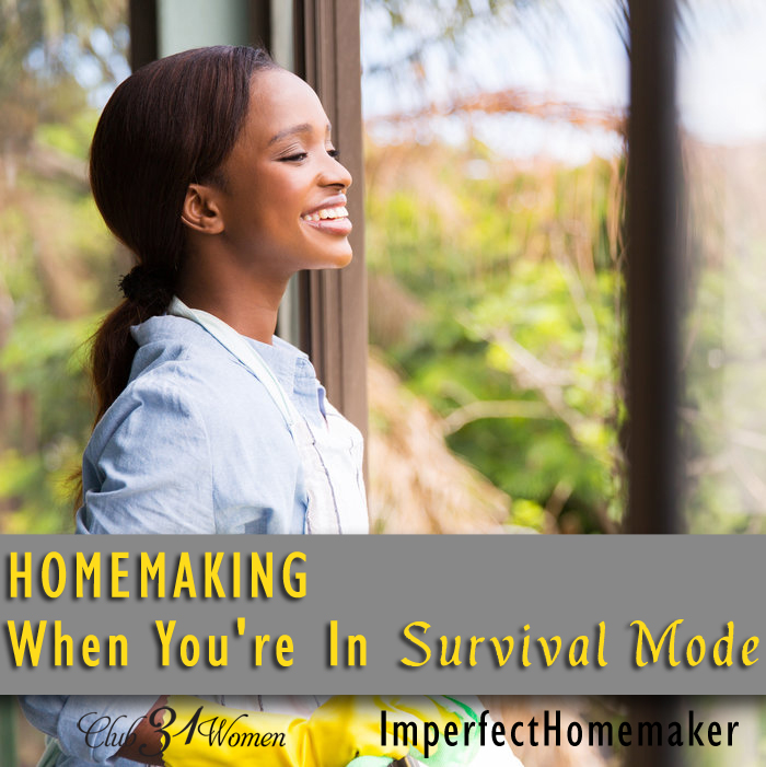 Homemaking When You're in Survival Mode