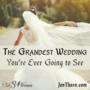 The Grandest Wedding You're Ever Going to See