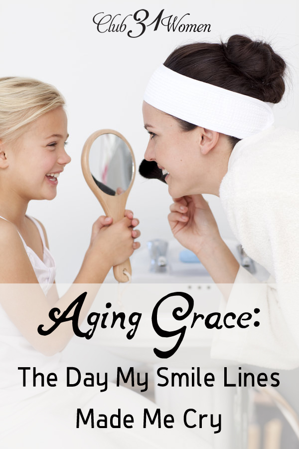 Aging Grace: The Day My Smile Lines Made Me Cry