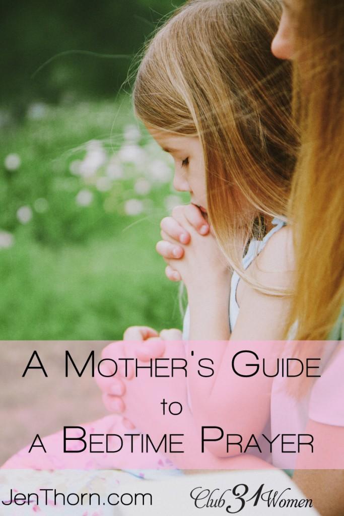 Club31Women.com_A Mother's Guide to a Bedtime Prayer