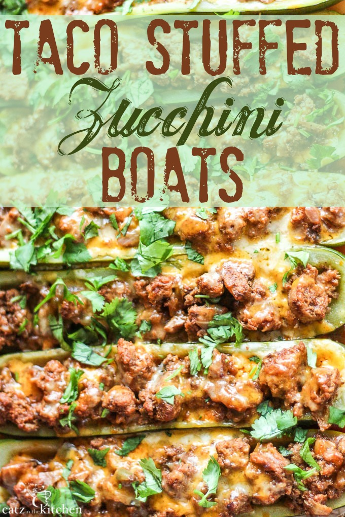 Taco-Stuffed Zucchini Boats {& A World Full of Amazing Food}