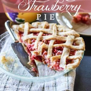 Strawberry Rhubarb Pie PIN