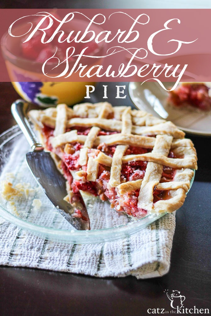 Rhubarb & Strawberry Pie {& How to Be a Light to Those in Need}
