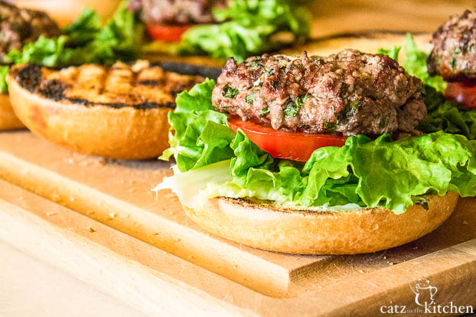 Herb & Cheese Burgers | Club 31 Women | club31women.com #BBQ #4thofJuly #Burgers